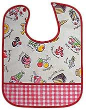 Sew your own bib!  I've made these before, easy.  Loved it!  Just wanting to save it here.