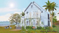 Scandivanian retreat home for The Sims 4