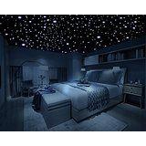 home Bedroom Dark - Removable Decal Art Mural Home Kids Bedroom Decor Wall Sticker Dark Stars NEW