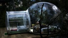 Attrap'Rêves Bubble Hotel Attrap'Rêves Hotel in France Provides Furnished Bubbles in Multiple Locations