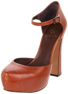 "Vince Camuto ""Jarius"" ankle-strap pump - These are cute. I'm afraid to follow the links to see how expensive they are..."