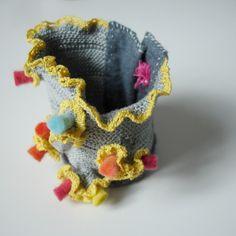 textile cuff -nO.257
