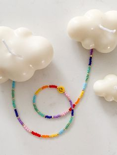 Handmade Beaded Jewelry, Handmade Bracelets, Beaded Bracelets, Diy Jewelry Necklace, Bead Jewellery, Necklace Ideas, Craft Jewelry, Necklace Designs, Crochet Beaded Necklace