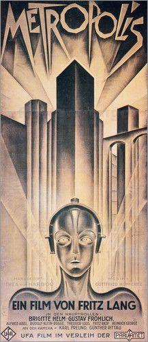 Louis Hersent - Metropolis Poster, 1926.