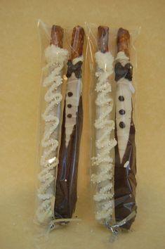 BRIDE and GROOM chocolate covered PRETZEL rods wedding favors bridal shower custom made. via Etsy. Fall Wedding, Diy Wedding, Wedding Gifts, Dream Wedding, Perfect Wedding, Wedding Songs, Wedding Advice, Rustic Wedding, Wedding Reception