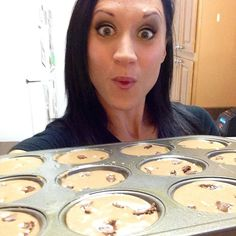Learn how to make High-Protein Chocolate Banana Muffins for breakfast or a healthy snack
