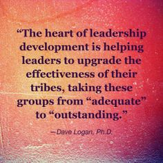 #leadership #tribes #teams #leadershipdevelopment   Follow Dave on Twitter: https://twitter.com/davelogan1