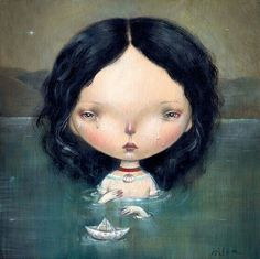 'Lake of tears' - Dilka Bear