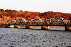 Stillwater Lift Bridge in Autumn - absolutely beautiful with all the colors in the fall.