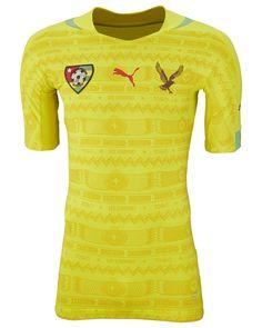 Camisas de Togo 2014-2015 Puma