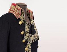 Habit de général de division porté par Bonaparte à Marengo - Musée de l'Armée
