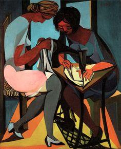 Renato Guttuso  1947  Le cucitrici