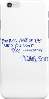 The Office Michael Scott quote Snap Case for iPhone 6 & iPhone 6s