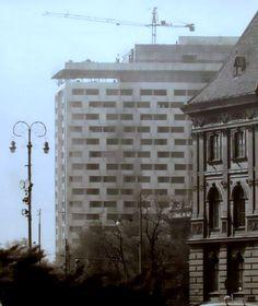 Zagreb - 1974. - Savska - Hotel Intercontinental - gradnja