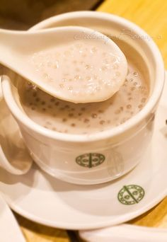Dessert: Yam Puree with Sago (hot) from Tim Ho Wan - World's cheapest Michelin Star Restaurant