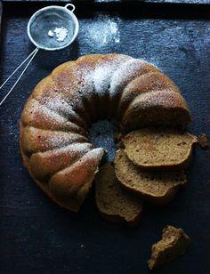 Chai Tea Bundt Cake   Wilgotna babka z herbatą chai (in Polish)