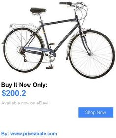 Basketball: Schwinn Wayfarer 7 Speed Mens 700C Retro Bike, Bicycle Blue BUY IT NOW ONLY: $200.2 #priceabateBasketball OR #priceabate