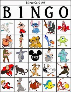 Bingo de Personajes Disney, para Imprimir Gratis. Disney Games For Kids, Bingo For Kids, Disney Activities, Walt Disney, Disney Day, Disney Love, Theme Mickey, Disney Theme, Disney Lessons