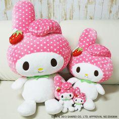 Kawaii ❤ Strawberry My Melody  http://www.japanpersonalshopper.com/