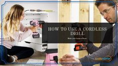 How To Use A Cordless Drill: It's Not Hard To Learn With The Dummies! - Tools Mirror Cordless Drill Reviews, Drill Driver, Hanging Pictures, Being Used, Tools, Mirror, Learning, Instruments, Drill