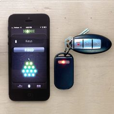 Hone key finder for iPhone and iPad by Hone