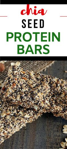 Delicious homemade Chia Seed Protein Bars are a healthy snack option that you are going to love.  With quinoa and chia seeds, this is a wholesome snack you will love #wendypolisi #proteinbars #glutenfree #glutenfreesnacks #glutenfreeproteinbars Gluten Free Recipes For Breakfast, Gluten Free Snacks, Dinner Recipes, Healthy Snack Options, Easy Healthy Recipes, Healthy Appetizers, Healthy Snacks, Gluten Free Protein Bars, Chia Seeds Protein