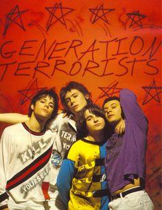 """Generation Terrorists"" Manic Street Preachers"