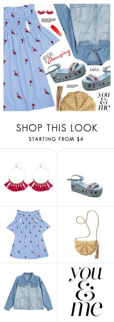 """""""Summer Style"""" by pokadoll ❤ liked on Polyvore featuring Hedi Slimane, WALL and NARS Cosmetics"""