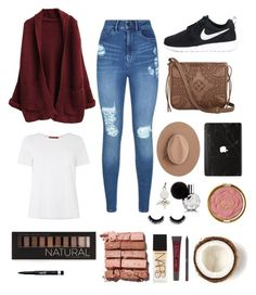 """Untitled #38"" by simonatoea ❤ liked on Polyvore featuring MaxMara, Lipsy, NIKE, T-shirt & Jeans, Calypso Private Label, Alexander Wang, Forever 21, Bobbi Brown Cosmetics, Rimmel and Milani"