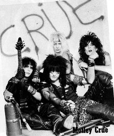 Motley Crue 80 Bands, 80s Hair Bands, Music Bands, Cool Bands, Metal Bands, Badass, Glam Rock Bands, Glam Metal, 80s Rock