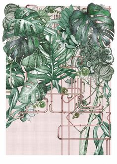 Lucille Clerc Print Club London Barbican Conservatory