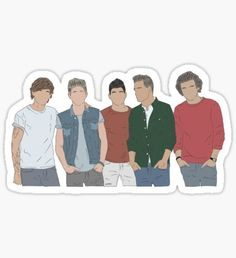 """One direction drawing"" Stickers by Beginartist One Direction Drawings, One Direction Wallpaper, Harry Styles Wallpaper, I Love One Direction, Bubble Stickers, Cool Stickers, Printable Stickers, Tumblr Stickers, One Direction Lyrics"