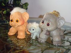 ♥ Vintage Elephant Troll Dolls ♥