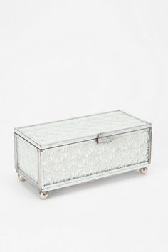 Lace Mirror Jewelry Box