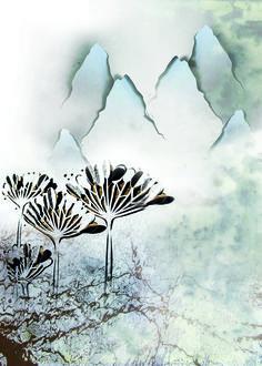 Ilustracion digital: El invierno