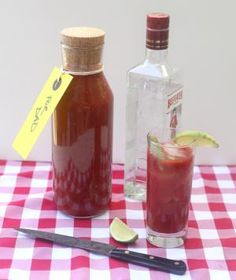 Old Bay Bloody Mary Mix