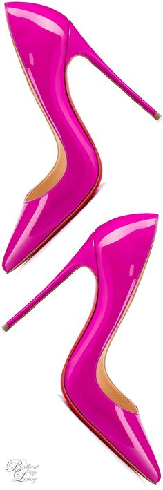 Brilliant Luxury * Christian Louboutin ~ So Kate 120
