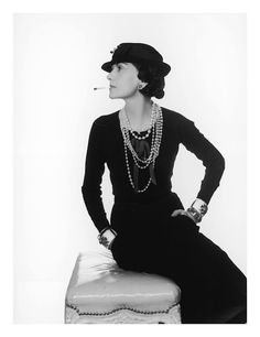 Coco Chanel in 1935.