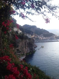 Enjoying the Amalfi Coast in Italy today! #amalfi #italy