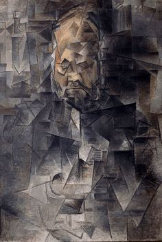 Art History Definition: Gallery Cubism or Gallery Cubists: Pablo Picasso (Spanish, Ambroise Vollard, Oil on canvas. 36 x 26 in. x 66 cm). Pushkin State Museum of Fine Arts, Moscow. Kunst Picasso, Art Picasso, Picasso Paintings, Art Movement Timeline, Art Timeline, Art History Major, Kunsthistorisches Museum, Modern Art Movements, Centre Pompidou