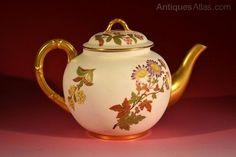Royal Worcester Teapot 1889
