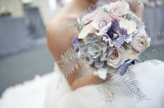 Dreamy bouquet from this urban wedding inspiration shoot by @Pocketful of Dreams