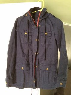 Want a cargo jacket--not army green or tan though...grey black, navy...MARKET AND SPRUCE CHAPLIN HOODED ANORAK CARGO JACKET