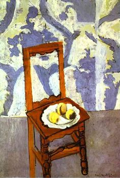 Henri Matisse. The Lorrain Chair. 1919. Oil on canvas. Private collection.