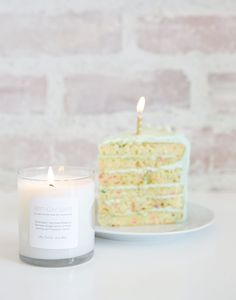 make every day your birthday! {birthday cake scented candle}