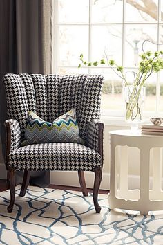 Still looking for the perfect chair to curl up on with a coffee and a good book!