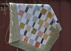 Modern Quilt by aSummerSwallow on Etsy
