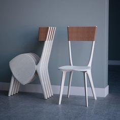 横向きな折りたたみ椅子【Palfrey Chair】|インテリアハック