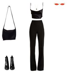 """Sin título #2400"" by paolabw ❤ liked on Polyvore featuring Giambattista Valli, Gentle Monster and Donna Karan"