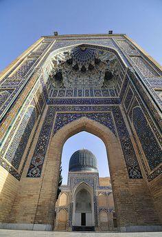 Beautiful Islamic architecture -Samarkand, Uzbekistan